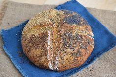 Il soda bread (pane senza lievito) è un pane irlandese che viene preparato con il bicarbonato di sodio al posto del classico lievito di birra che fa Soda Bread, Italian Recipes, Italian Foods, Pizza, Cooking, Dolce, Breads, Fantasy, Brioche