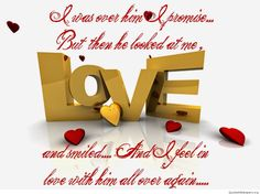 What my love is…