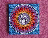 Mini Original Painting- BE FREE - by Elspeth McLean