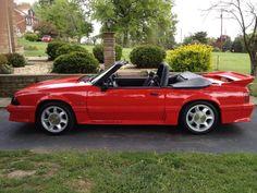 Dan Bolin's 1993 Mustang GT convertible...