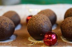 Vegan Chocolate Mint Truffles