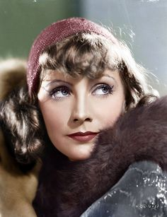 °garbo° Greta Garbo ...in Susan Lenox, Her Fall and Rise (colourized phot