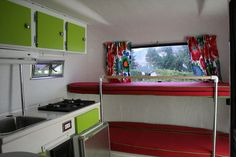 another interior view of the Boler Trailer
