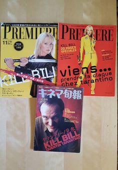 PREMIERE MAGAZINE LOT KILL BILL UMA THURMAN TARANTINO COVER 2003 RARE IMPORT