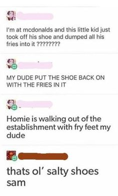 Fry Foot Freddy back at it Funny Quotes, Funny Memes, Hilarious, Jokes, Lol, Funny Tumblr Posts, Pokemon, Along The Way, My Guy