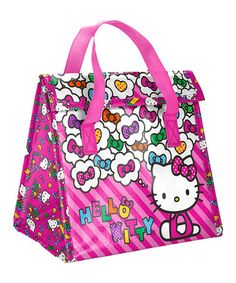 Look what I found on  zulily! Hello Kitty Lunch Bag  zulilyfinds School  Items 2bca66b408
