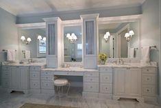 White & elegant bath