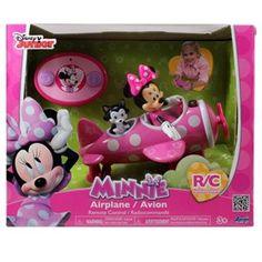Jada Toys Minnie Mouse Airplane Remote Control Replacement 97115 for sale online Kids Clothes Sale, Airplane Party, Jada Toys, Remote Control Cars, Radio Control, Disney Junior, Toys For Girls, 3rd Birthday, Christmas Holidays