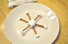 snowflake snack + more snowflake ideas
