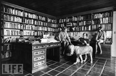 Joan Didion John Gregory Dunne and their daughter Quintana Roo at their Malibu home by John Bryson, 1976 Anchor Books, Magical Thinking, Book Wall, Personal Library, Home Libraries, Quintana Roo, Portraits, Harrison Ford, A Decade