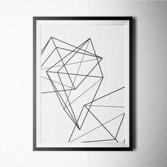 Fancy - Geometric IV Print 21$