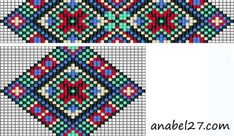bead loom patterns - Buscar con Google