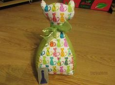 doorstop cat pattern free - Google Search