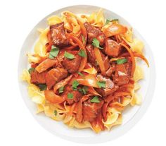 Beef Paprikash With Egg Noodles | Looking for dinners the whole family will enjoy? These inspired (yet inexpensive) recipes easily make the cut.