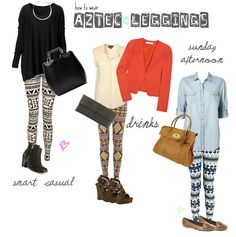 How to Wear Printed Leggings | SPINKLY MAGAZINE
