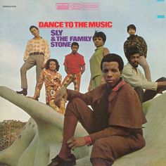 Sly and the Family Stone - Dance To The Music on LP