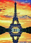 """New artwork for sale! - """" Eifel Tower In Paris by PixBreak Art """" - http://ift.tt/2g4zMxU"""