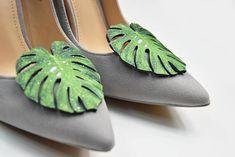 Philo leaf  shoe clips shoe accessories shoe fashion