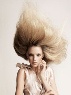 Collection: Gravity || Hair: Angelo Seminara || Make up: Denise Rabor || Photographer Andrew O'Toole || 2008