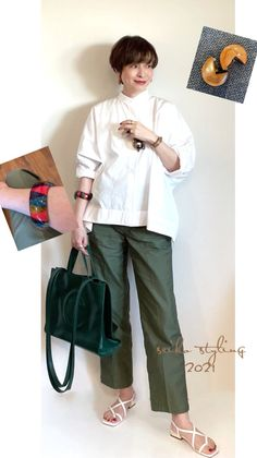 Khaki Pants Outfit, Style Icons, Coat, Jackets, Outfits, Fashion, Down Jackets, Moda, Sewing Coat