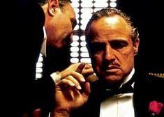 Marlon Brando as Don Vito Corleone, The Godfather. & on Bristol Board The Godfather Famous Movies, Iconic Movies, Classic Movies, Great Movies, 70s Films, Popular Movies, Marlon Brando, Mafia, Forrest Gump