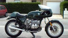 café racer bmw r80 - YouTube