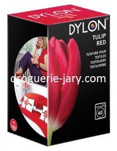 Teinture tissus rouge vif N°36 Dylon 200g