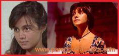 Parecidos con famosos: Actriz Brasilena Adriana Esteves antes y después