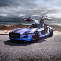 SLS AMG | Photo by @cedricmelbourne | #blacklist #mercedesbenz #sls #amg