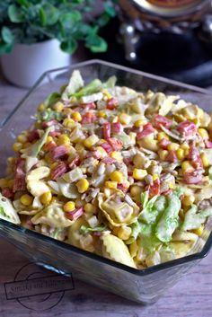 Tortellini, Mozzarella, Pasta Salad, Salad Recipes, Potato Salad, Salads, Deserts, Food And Drink, Potatoes