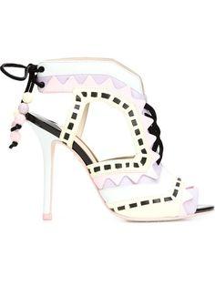 SOPHIA WEBSTER 'Riko' Sandals. #sophiawebster #shoes #sandals