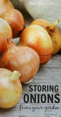 Instructions for storing onions during the winter that my grandparents have given me and successfully done for years.