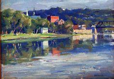 John Folinsbee - Lambertville - 1930