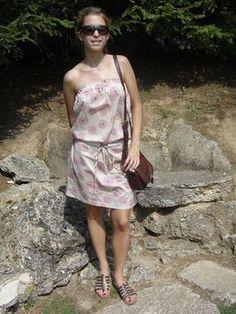 Tuto robe tube : très bien expliqué ! Idéal pour la plage ;)