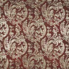Warwick Fabrics : VECCHIO, Colour SIENNA