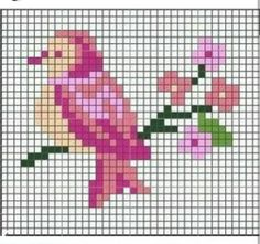 Thrilling Designing Your Own Cross Stitch Embroidery Patterns Ideas. Exhilarating Designing Your Own Cross Stitch Embroidery Patterns Ideas. Mini Cross Stitch, Cross Stitch Cards, Cross Stitch Animals, Cross Stitch Flowers, Cross Stitching, Cross Stitch Embroidery, Bird Patterns, Beading Patterns, Embroidery Patterns
