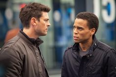 Almost Human - 2013 fall show. Karl Urban is in this, so I'll be watching!