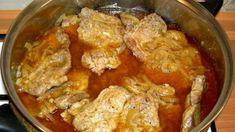Čertovské rezne z hrnca: Stará a výborná klasika, ktorá sa nám nikdy neomrzí! Lamb, Curry, Food And Drink, Menu, Chicken, Cooking, Ethnic Recipes, Foodies, Fine Dining