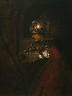 Rembrandt, A Man in Armour (Alexander the Great?), 1655, Oil on canvas, 137.4 x 104.4 cm. Glasgow Museums: Art Gallery & Museums, Kelvingrove. 601, © CSG CIC Glasgow Museums Collection