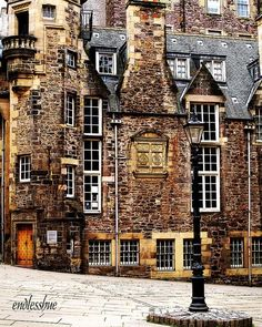 The Writers Museum: just off the Royal Mile in Edinburgh, Scotland.I want to live here.No more than an hour from Edinburgh. Oh The Places You'll Go, Places To Travel, Places To Visit, Travel Stuff, Beautiful World, Beautiful Places, Amazing Places, Famous Castles, England And Scotland