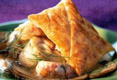 Le feuilleté de soles et langoustines  Pour ceux qui préfèrent le poisson, cette recette répondra à toutes vos attentes!  Consulter la recette du feuilleté de soles et langoustines