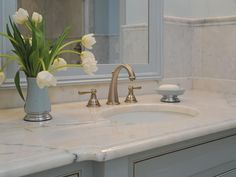 What do you value in bathroom design?  That's one question to ask yourself when considering what features to splurge on versus where to save.  Get more tips here-->  http://www.hgtvremodels.com/bathrooms/how-to-splurge-and-save-on-a-bathroom-remodel/index.html?soc=KB14