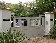 Poundbury Hardwood Gates