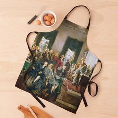 """""""The Signing of the Constitution of the United States - Howard Chandler Christy """" Apron by podartist   Redbubble Custom Aprons, 4th Of July Party, Constitution, Print Design, United States, Usa, Style, Personalized Aprons, Swag"""