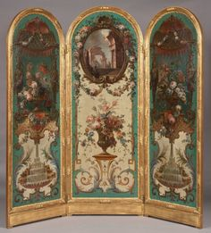 - A Highly Decorative Screen in the Classic Manner