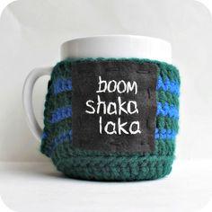 Funny mug cozy