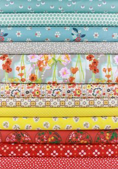 Fabricworm Custom Bundle, Flawlessly Floral in FAT QUARTERS 12 Total