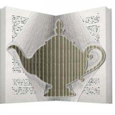 Tea pot book folding pattern 100% Free