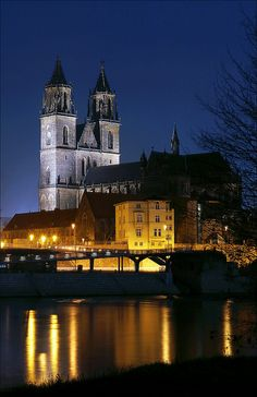 Magdeburg Cathedral - Germany  CLICK ON https://www.militaryonlineshopping.com for some memorable military gifts.