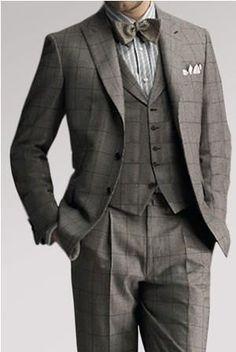 Пошив мужских костюмов в англии